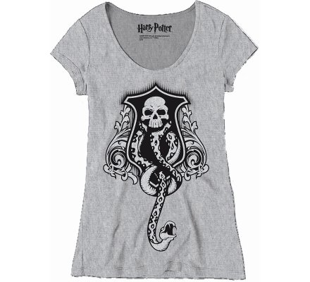 Tee-shirt Femme Basilic Snake Harry Potter