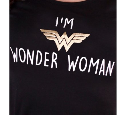 Tee-Shirt Femme I'm Wonder Woman
