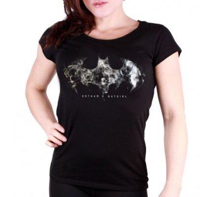 Tee Shirt Femme Noir Batgirl Darkness Batman