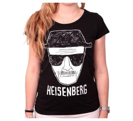 Tee-Shirt Femme Noir Heisenberg Breaking Bad