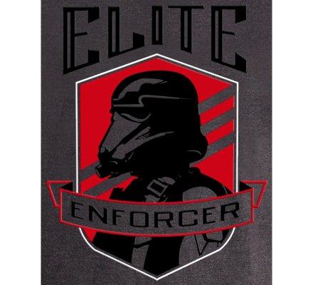 Tee-Shirt Gris Elite Enforcer Star Wars