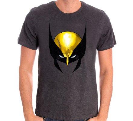 Tee-Shirt Gris Head Wolverine