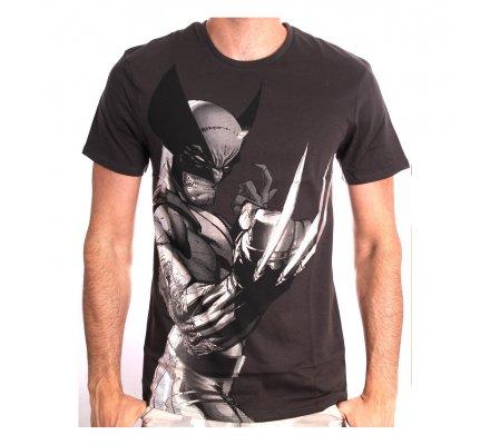 Tee-Shirt Gris Profil Wolverine