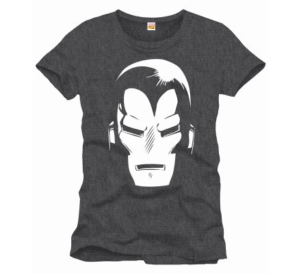 Tee-Shirt Helmet Iron Iron Man