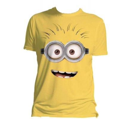 Tee-Shirt Jaune Dave Moi Moche et Méchant