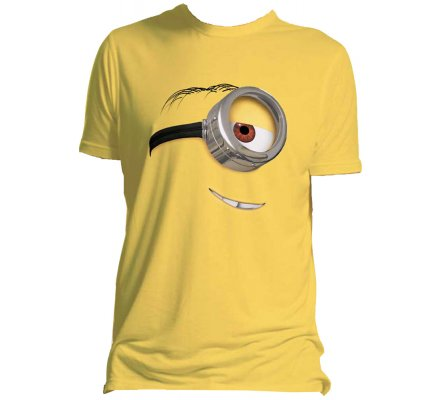 Tee-Shirt Jaune Stuart  Moi Moche et Méchant