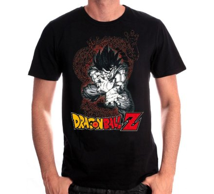Tee-Shirt Kameha Goku Dragon Ball Z
