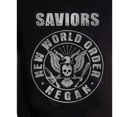 Tee-Shirt Negan New World Order Walking Dead