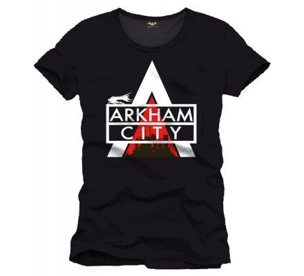 Tee-Shirt Noir Arkham City Batman