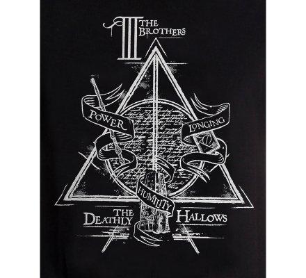 Tee-Shirt Noir Brothers Harry Potter