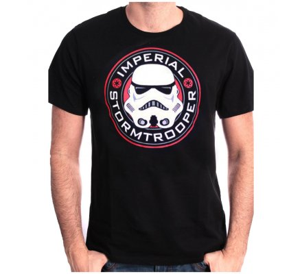 Tee-Shirt Noir Imperial Stormtrooper Star Wars