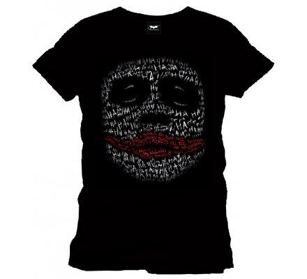 Tee-Shirt Noir Joker in Words Batman