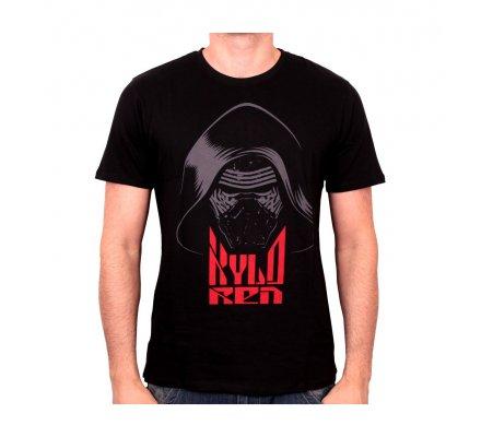 Tee-Shirt Noir Kylo Ren Hood Star Wars 7