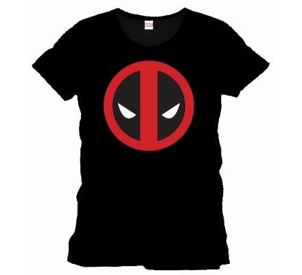 Tee-Shirt Noir Logo Deadpool