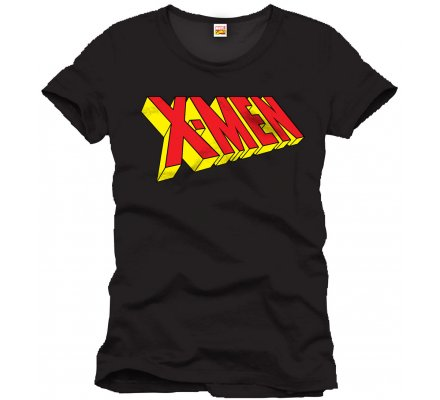 Tee-Shirt Noir Logo X-Men