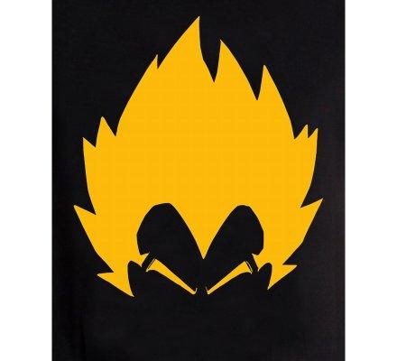 Tee-Shirt Noir Vegata Dragon Ball Z