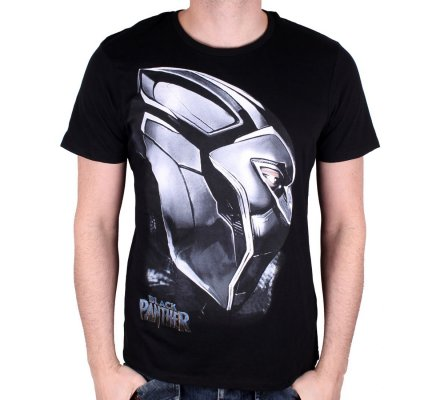 Tee-Shirt Profil Black Panther
