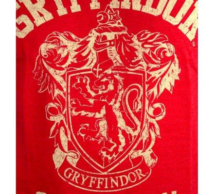 Tee-Shirt Rouge Gryffondor Quidditch Harry Potter