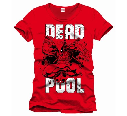 Tee-Shirt Rouge Jump Deadpool