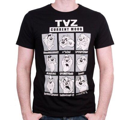 Tee-Shirt Taz Mood Looney Tunes