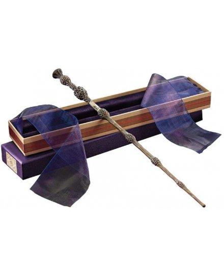 Baguette Albus Dumbledore réplique officielle boite Ollivander