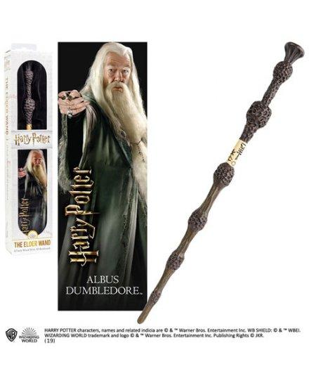 Baguette Dumbledore 30 cm et marque page 3D