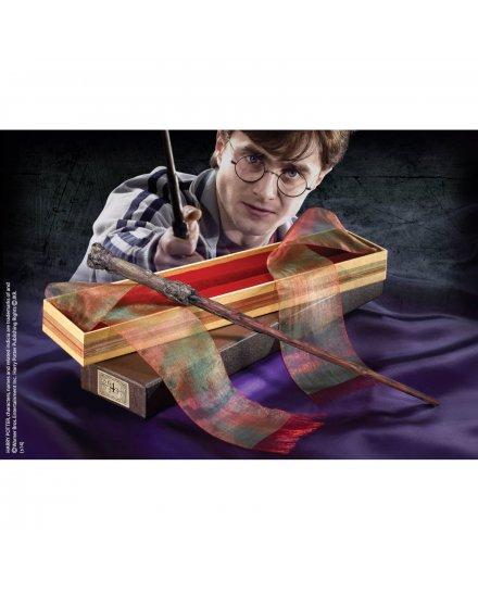 Baguette Harry Potter réplique officielle boite Ollivander