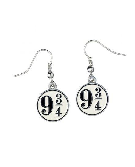 Boucles d'oreilles Harry Potter Platform 9 3/4 pendantes