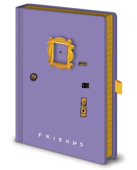 Carnet Bloc Notes Friends Porte A5
