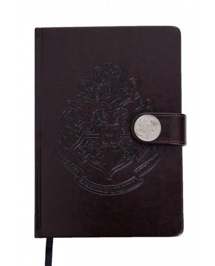 Carnet Bloc Notes Harry Potter Poudlard Blason Premium