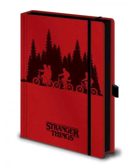 Carnet Bloc Notes Stranger Things A5