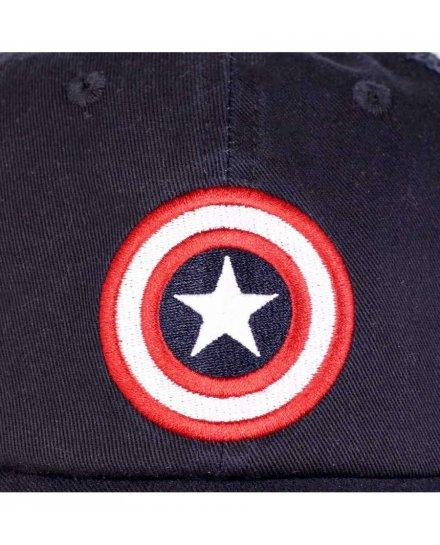 Casquette Captain America Grunge