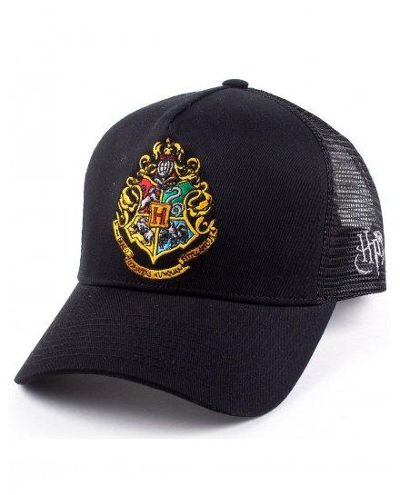 Casquette Harry Potter noire Trucker Poudlard