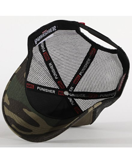 Casquette Punisher camouflage
