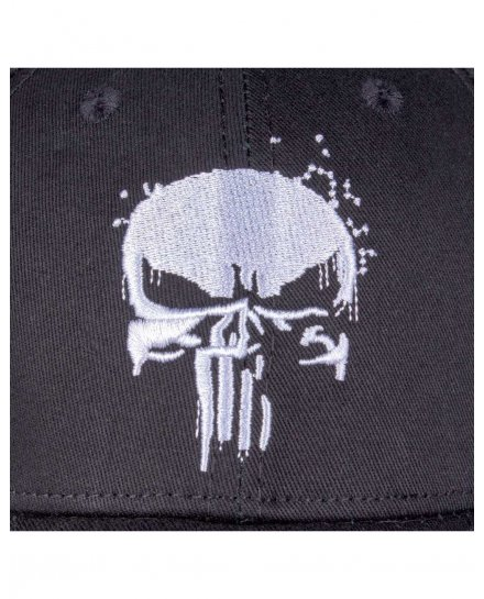 Casquette Punisher Grunge
