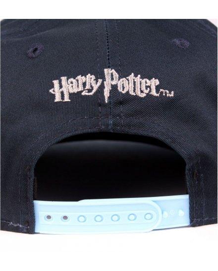 Casquette Serdaigle Blason Harry Potter bleue visière bleue ciel