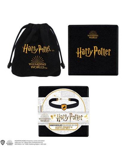 Collier Ras de cou Poufsouffle Harry Potter