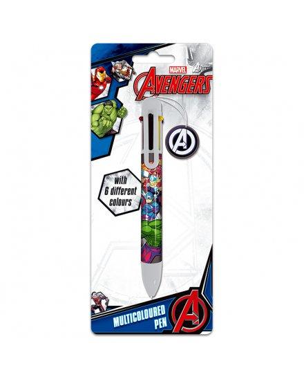 Crayon 6 couleurs Avengers Marvel