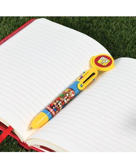 Crayon 6 couleurs Super Mario Nintendo Etoile-Brique