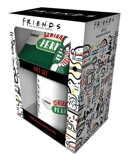 Set Friends Mug sous verre porte-clés Central Perk