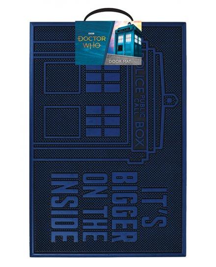 Tapis caoutchouc Doctor Who Tardis