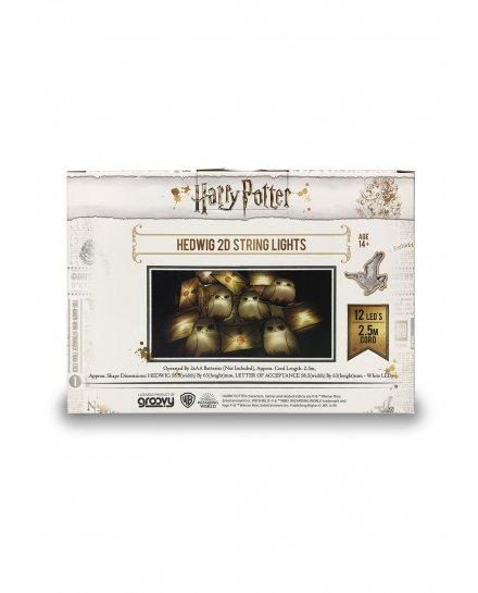 Guirlande lumineuse Harry Potter Hedwig et Lettres 2D