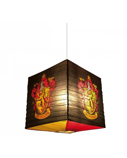Suspension Harry Potter cube noir Gryffondor