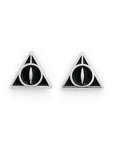 Lot Boucles d'oreilles Harry Potter Platform 9 3/4 Lettre Hedwig et reliques de la mort
