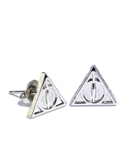 Lot Boucles d'oreilles Harry Potter Reliques de la mort Vif d'or et Quai 9 3/4