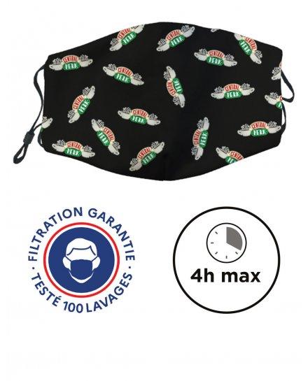 Masque de protection lavable CATÉGORIE 1 - UNS1 FRIENDS - Central Perk