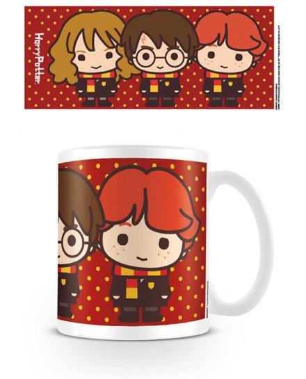 Mug Harry Ron Hermione Chibi Harry Potter