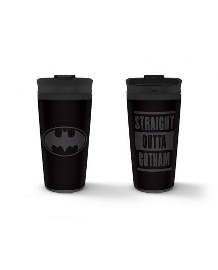 Mug de voyage Batman Straight Outta Gotham Métal