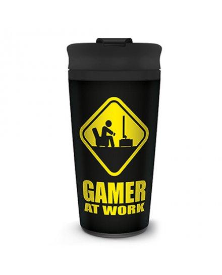 Mug de voyage Gamer at Work geek