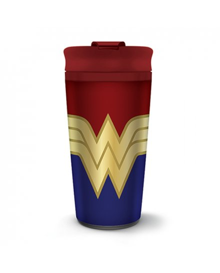 Mug de voyage Wonder Woman Métal Strong